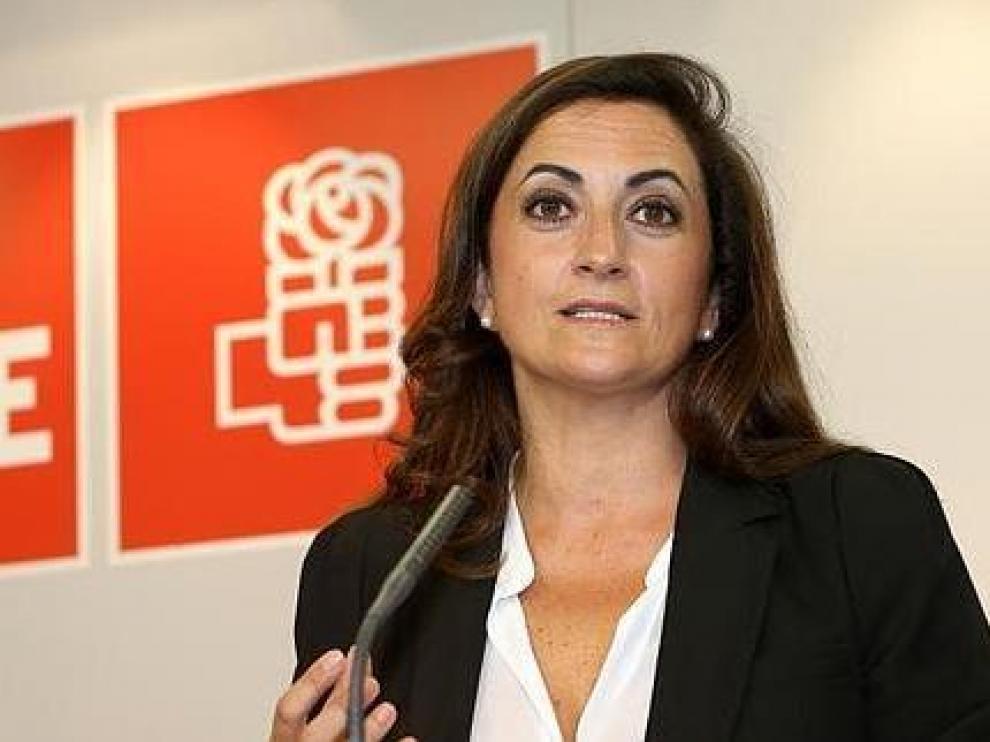 Concha Andreu, líder del PSOE en La Rioja.