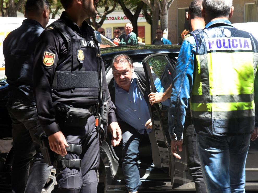 Detenido el presidente del Huesca