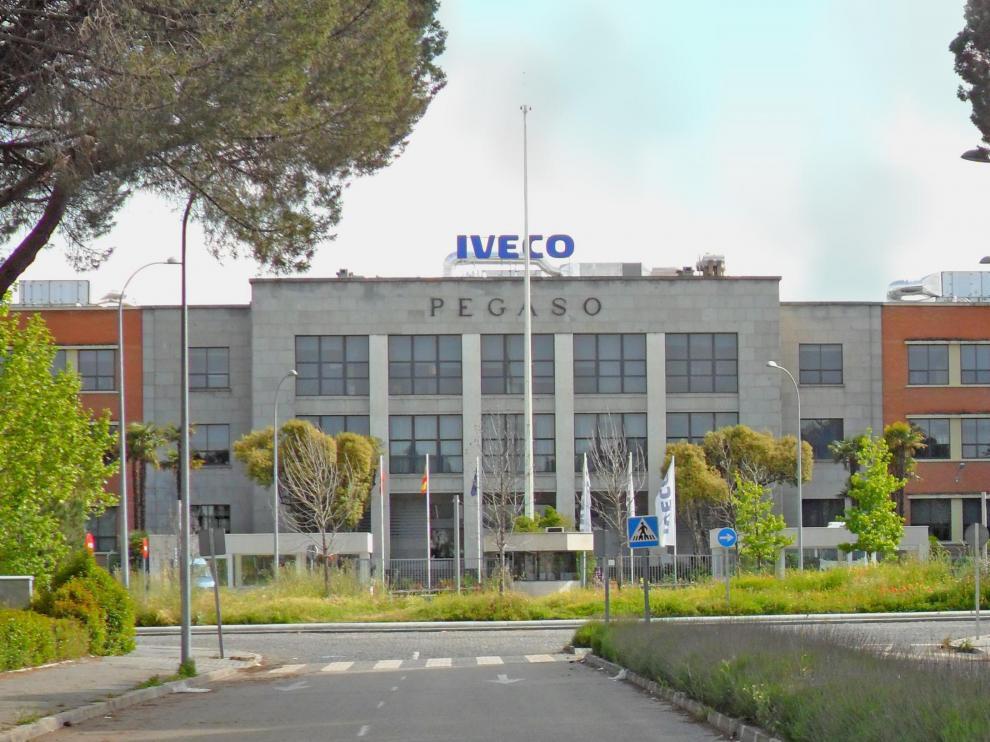 La víctima trabajaba en Iveco Madrid, una empresa de camiones.