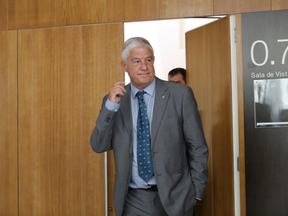 El abogado de Lasaosa, José María Fuster Fabra.