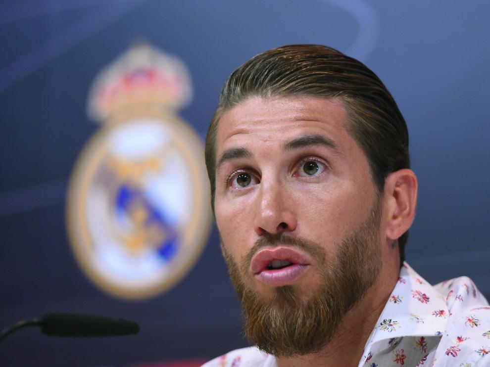 Sergio Ramos, este jueves.