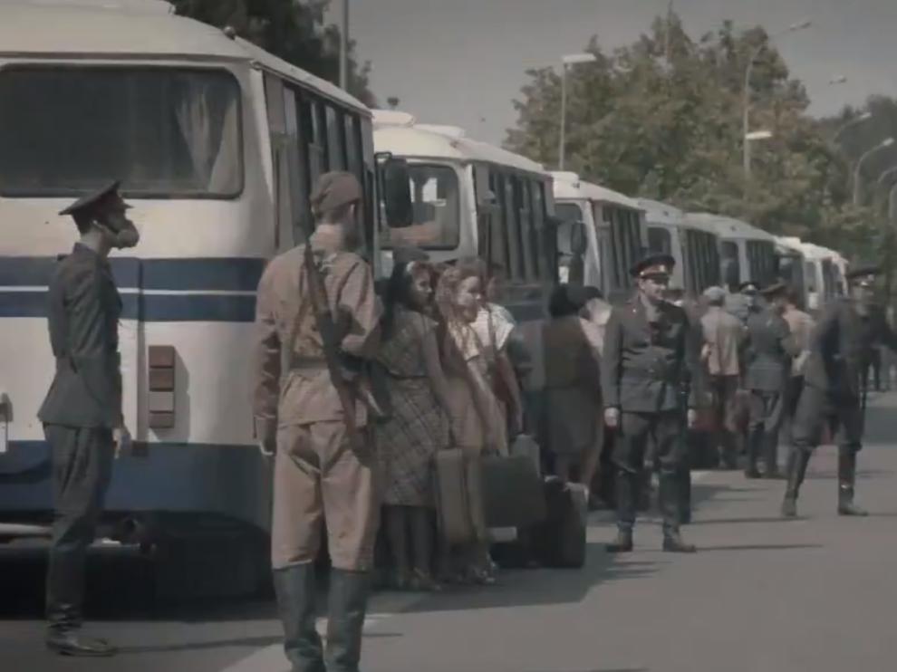Fotograma de la serie de HBO, 'Chernóbyl'.
