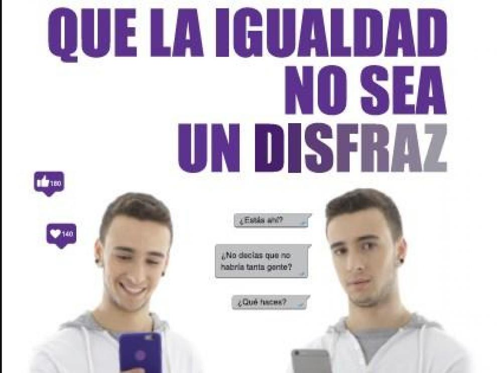 'Que la igualdad no sea un disfraz', campaña de la DGA contra la discriminación sexual.