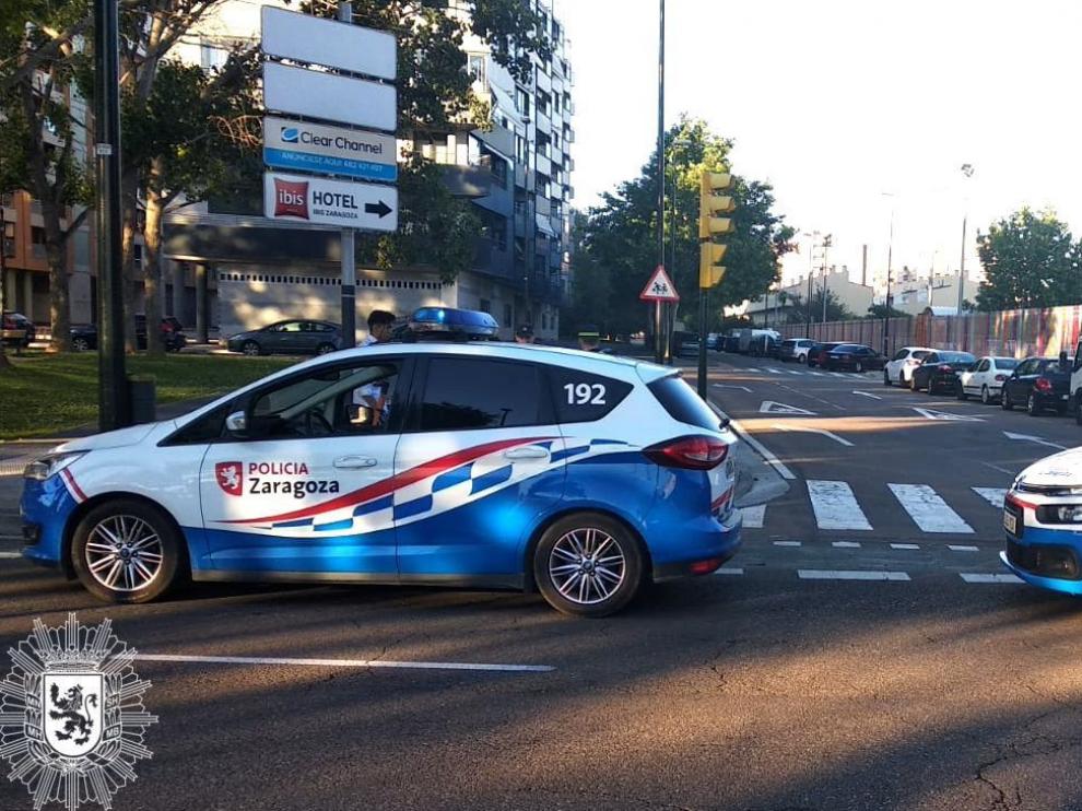La Policía Local de Zaragoza detuvo este fin de semana a seis personas por conducir ebrios.