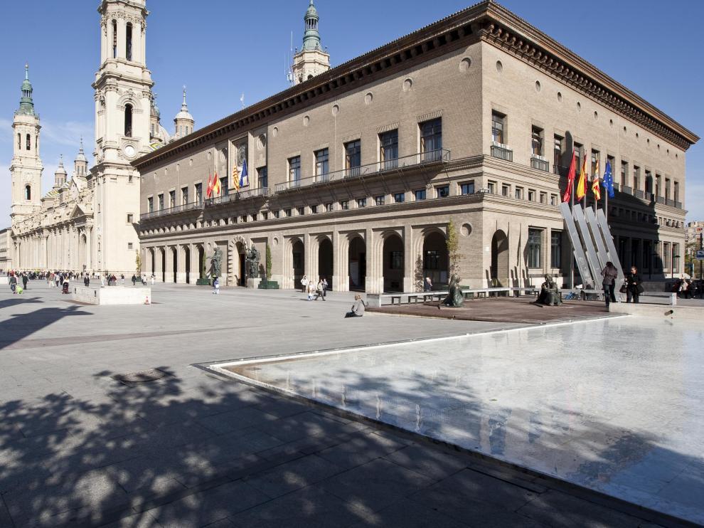AYUNTAMIENTO DE ZARAGOZA / PLAZA DEL PILAR / 17/10/2012 / FOTO : OLIVER DUCH