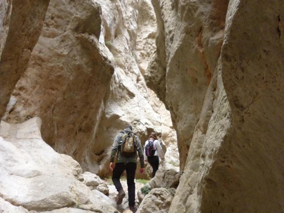 El sendero del agua, en Villel, es una de las propuestas.