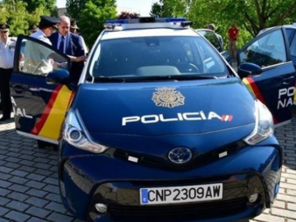 Coches i-ZETA de la Policía Nacional.