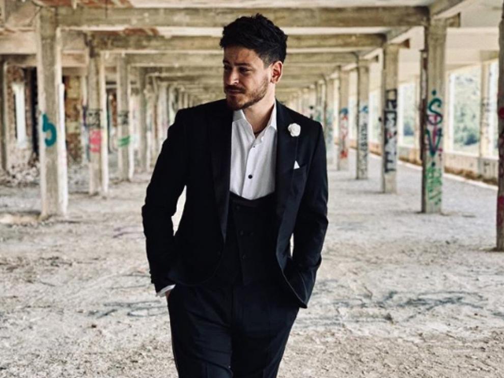 Luis Cepeda, en el videoclip de 'Fuimos Vida'.