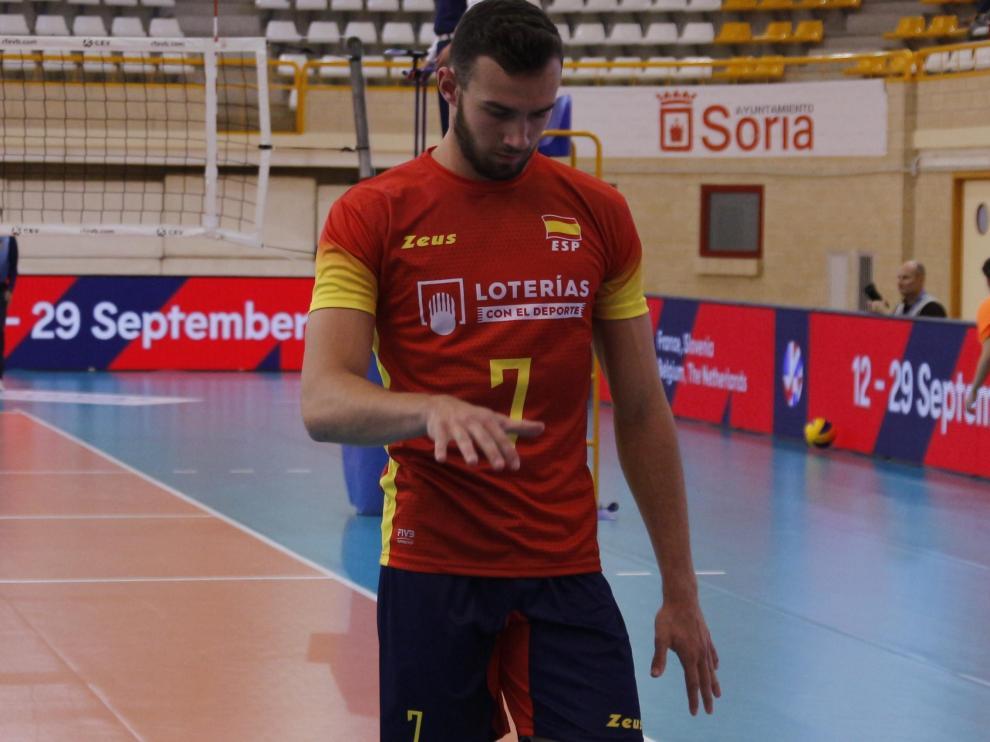El receptor Jordi Ramón, de 19 años, se ha hecho con un puesto en la selección absoluta