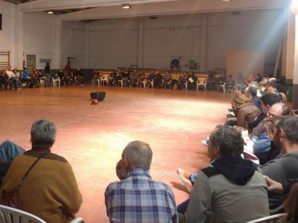 Encuentro de Riada celebrado el 2 de marzo en Burbáguena.