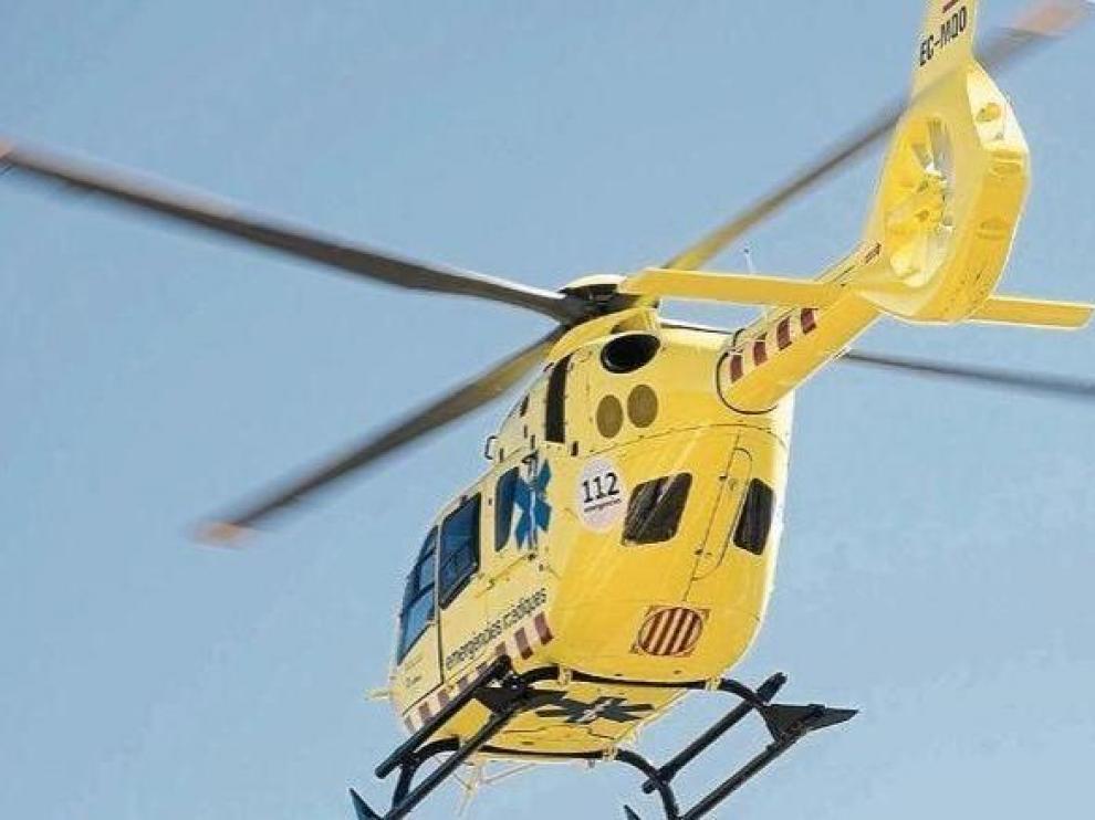 Helicóptero del SEM en una imagen de archivo
