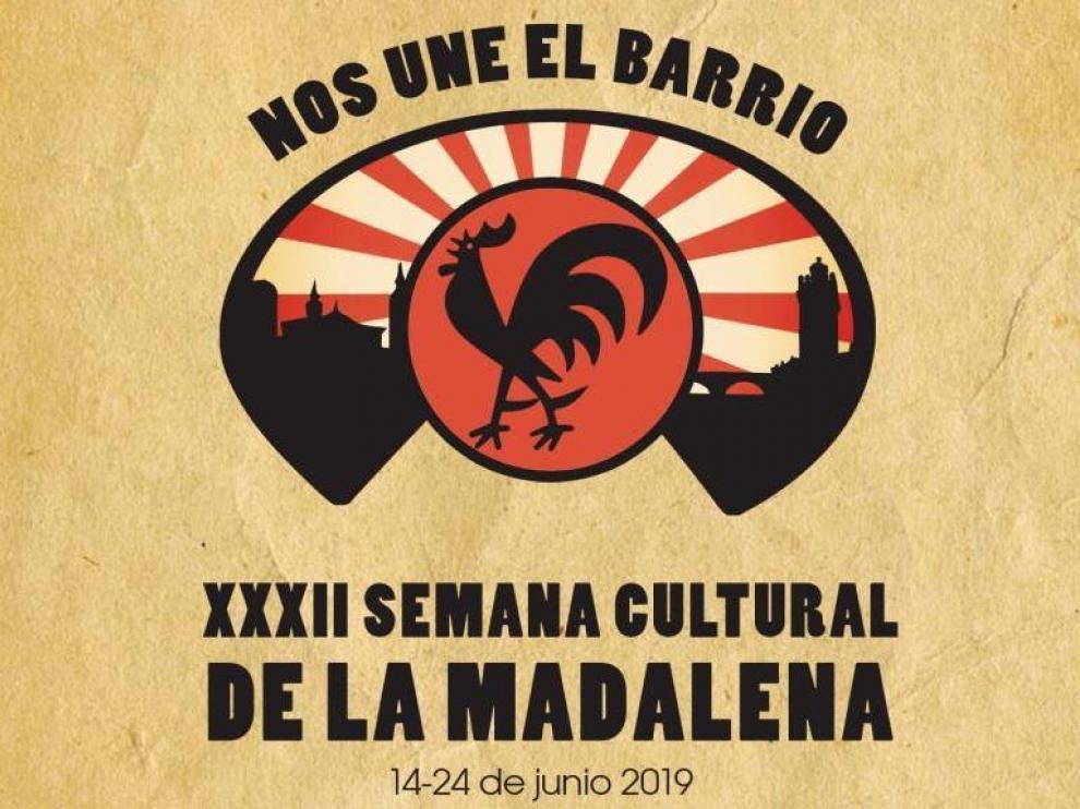 Cartel de la Semana Cultural.