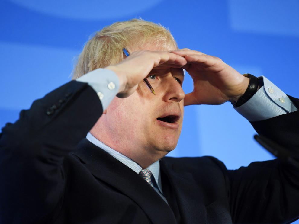 El conservador británico Boris Johnson.