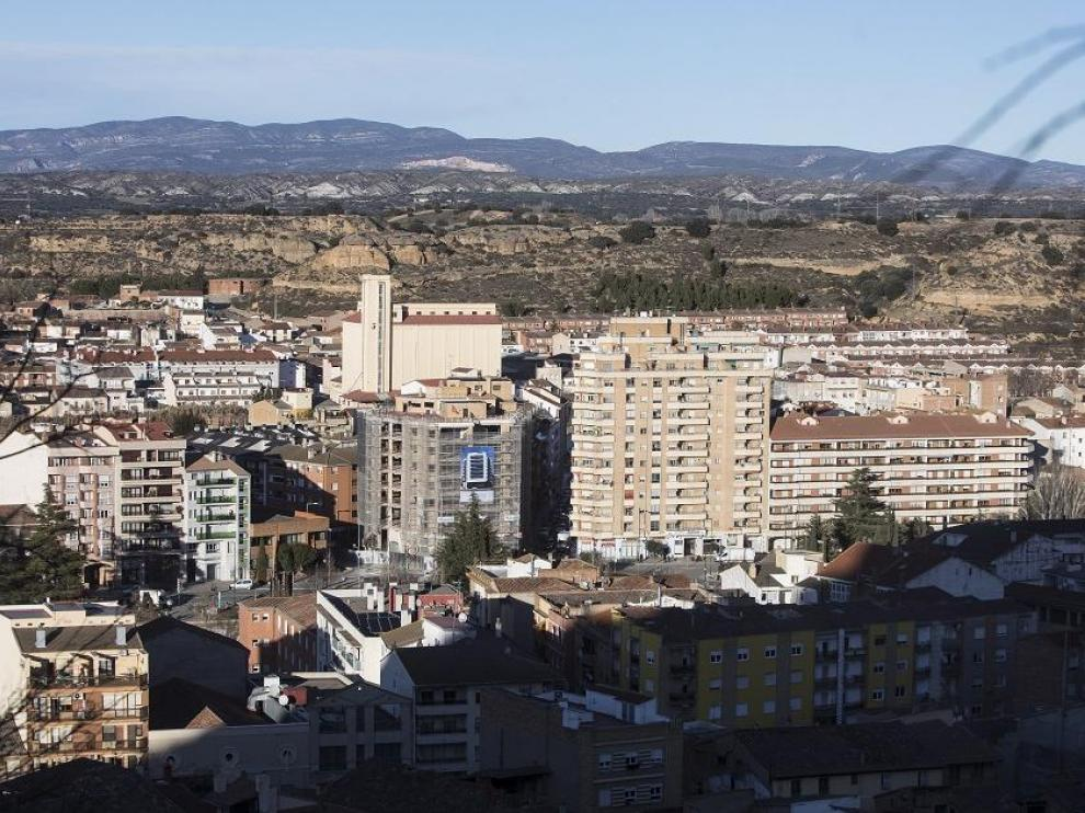 Vista de Monzón