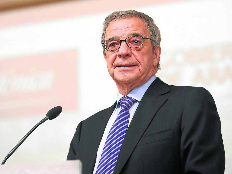 César Alierta, durante una reciente intervención en un foro empresarial.