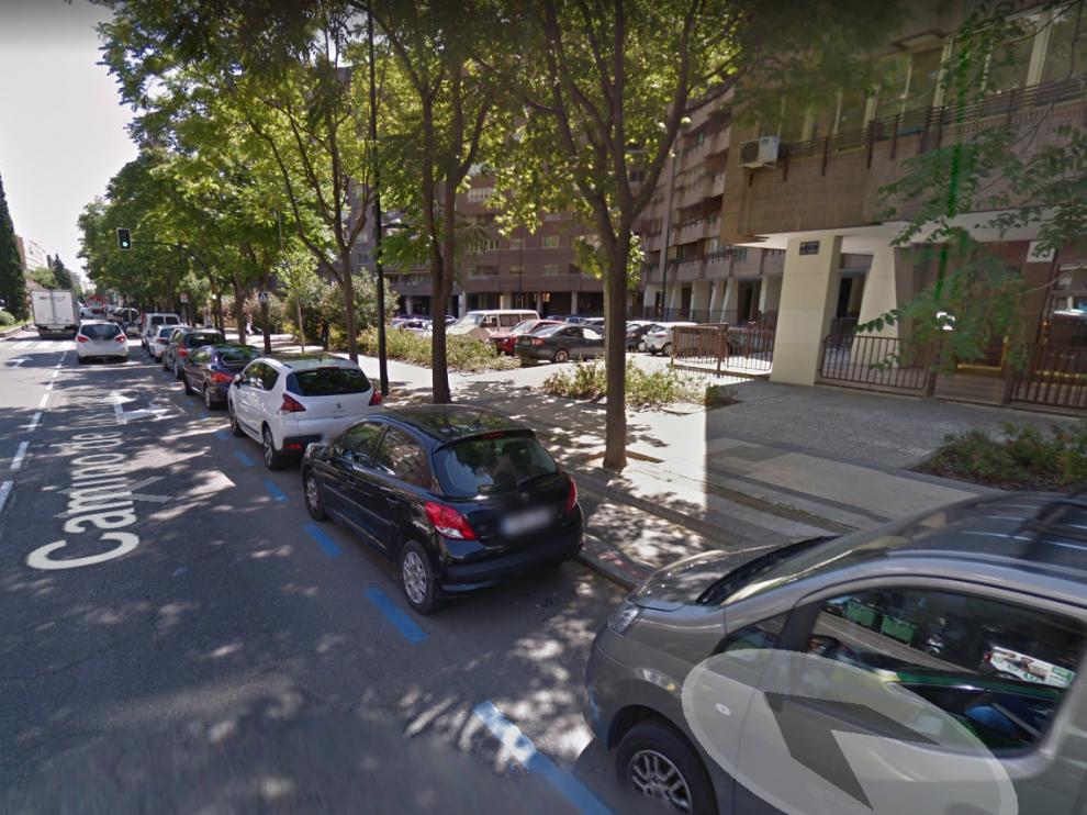 El suceso ha tenido lugar a la altura del número 43 del camino de Las Torres, en el carril bici.