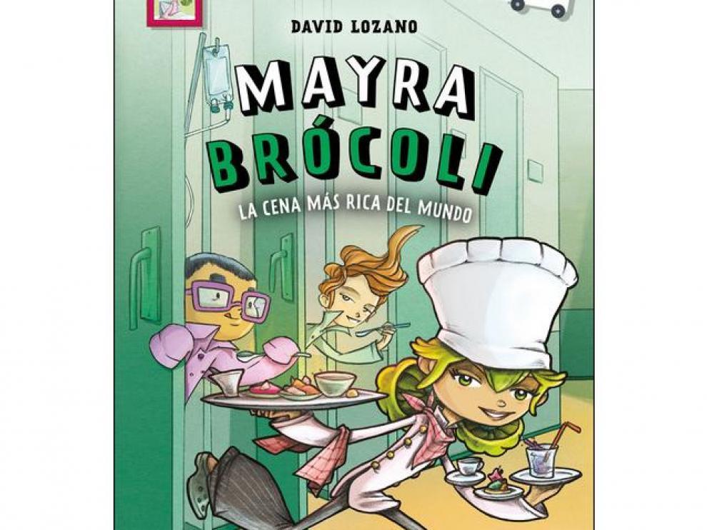 Portada de 'Mayra Brócoli' de David Lozano y David Guirao