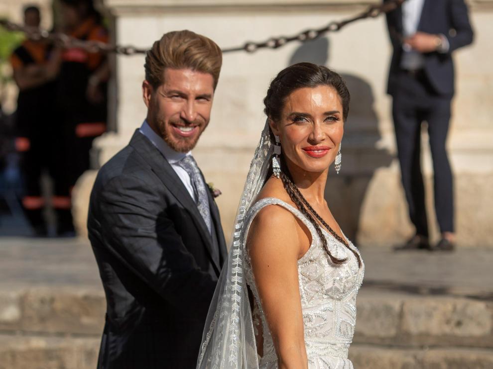 Boda de Sergio Ramos y Pilar Rubio.
