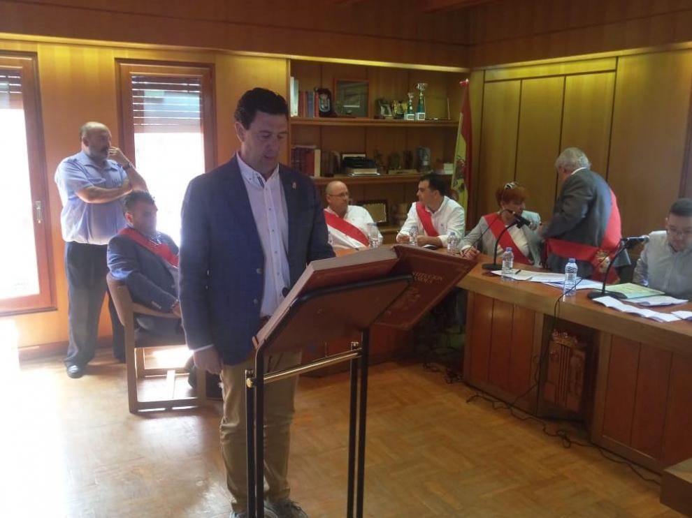 Ignacio Herrero (PP), nuevo el alcalde de Illueca.