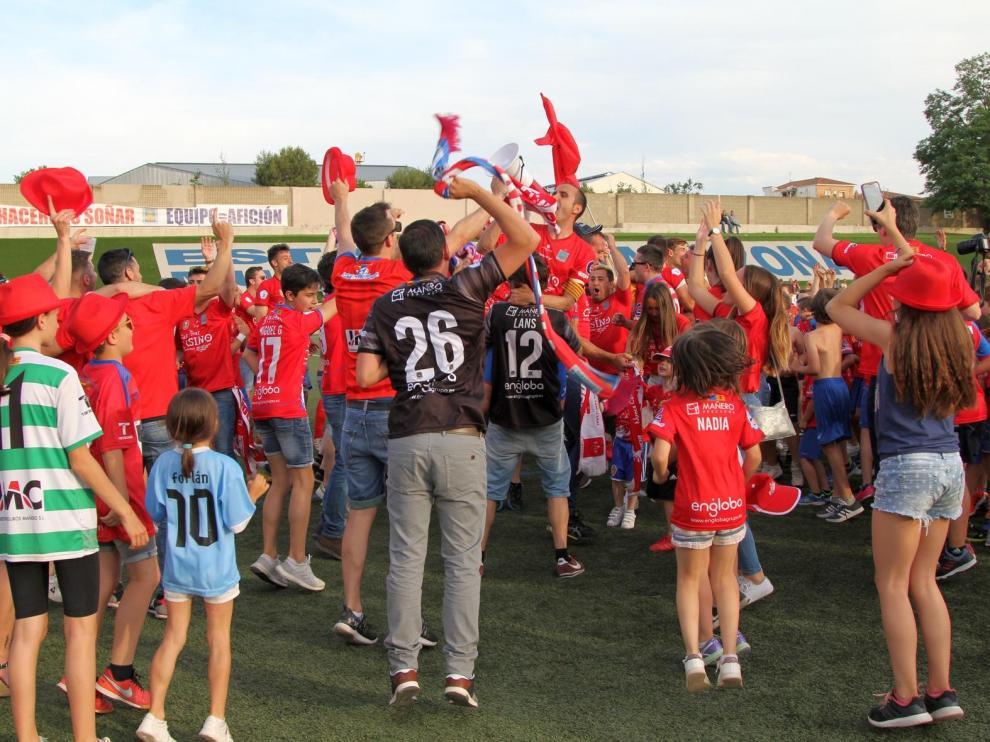 Partido Tarazona-El Palo del 'play off' de ascenso a Segunda B