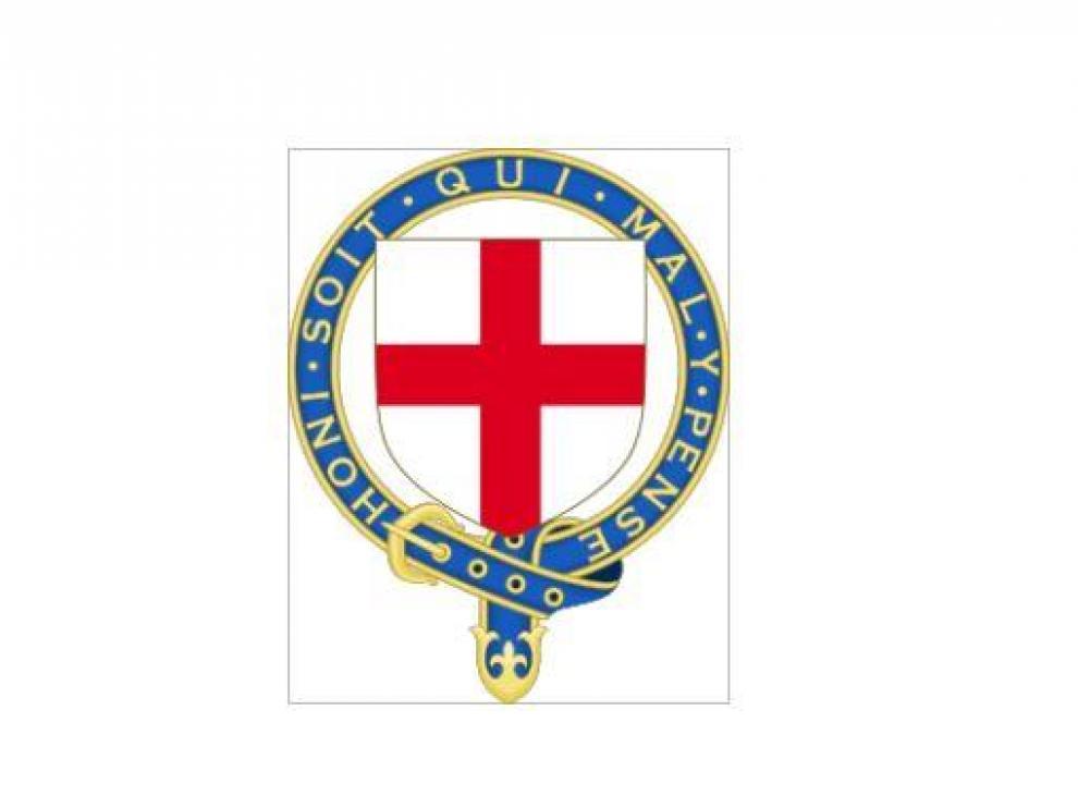 Escudo de la Orden de la Jarretera