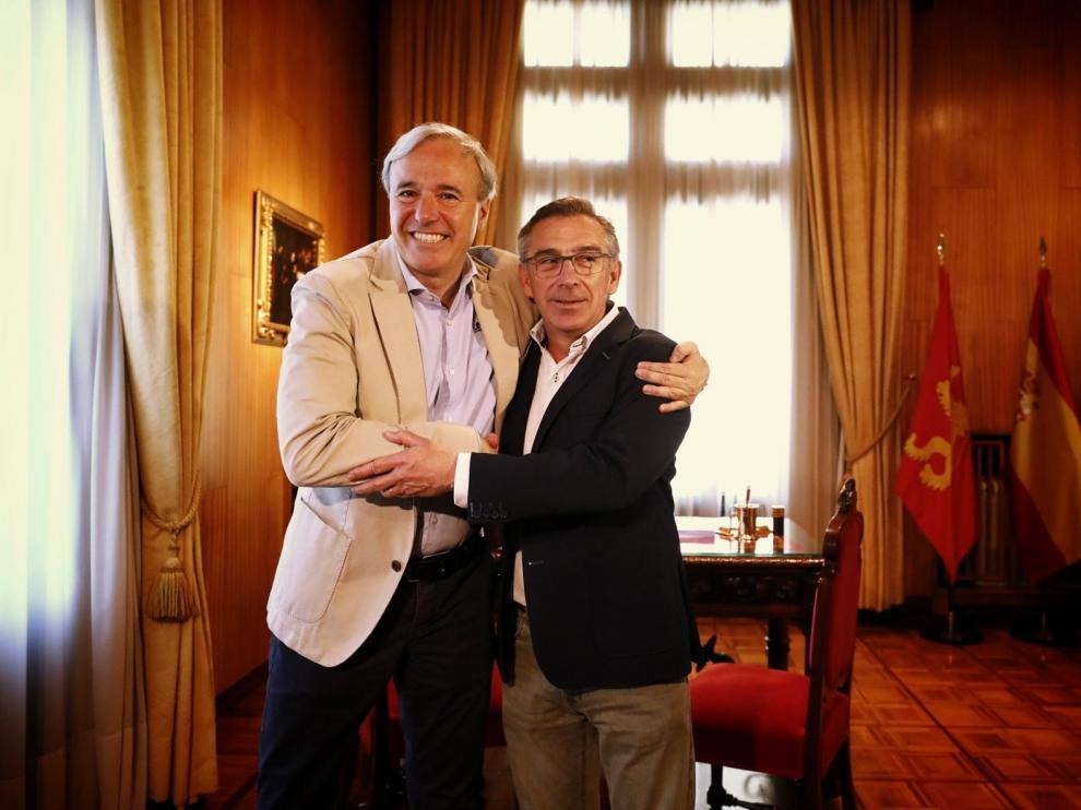 Beamonte (PP) confirma la presentación de una moción de censura en Huesca.