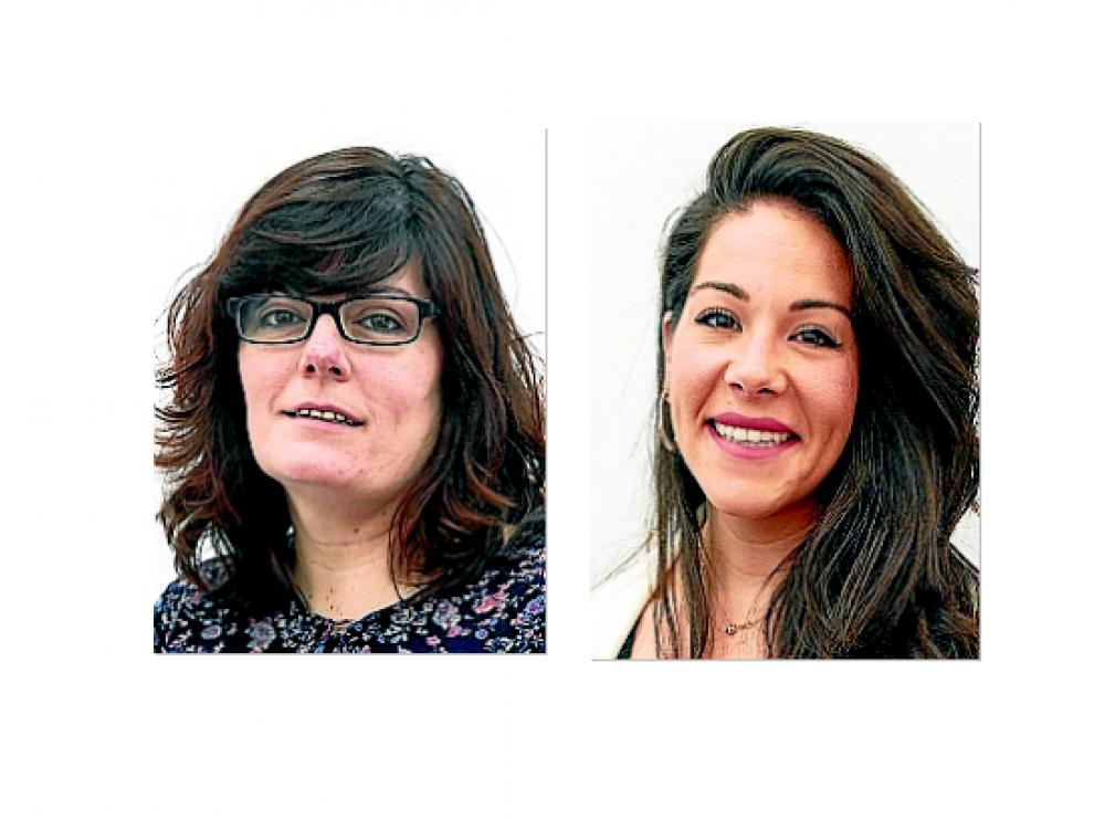 Isabel García y Beatriz Sánchez.