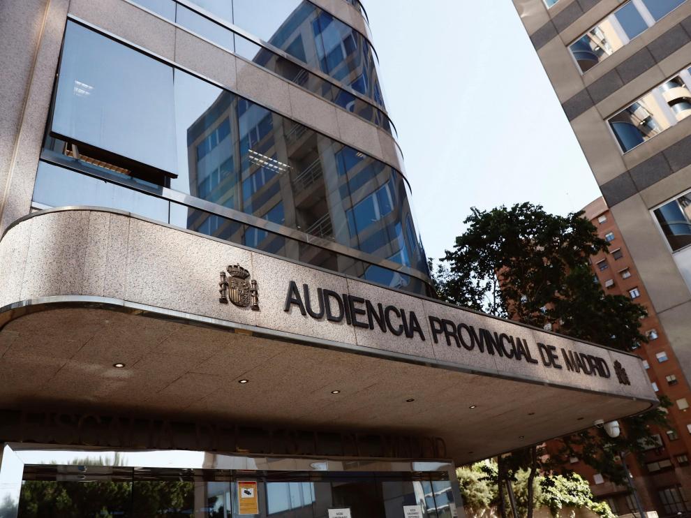 El juicio se está desarrollando en la Audiencia Provincial de Madrid.