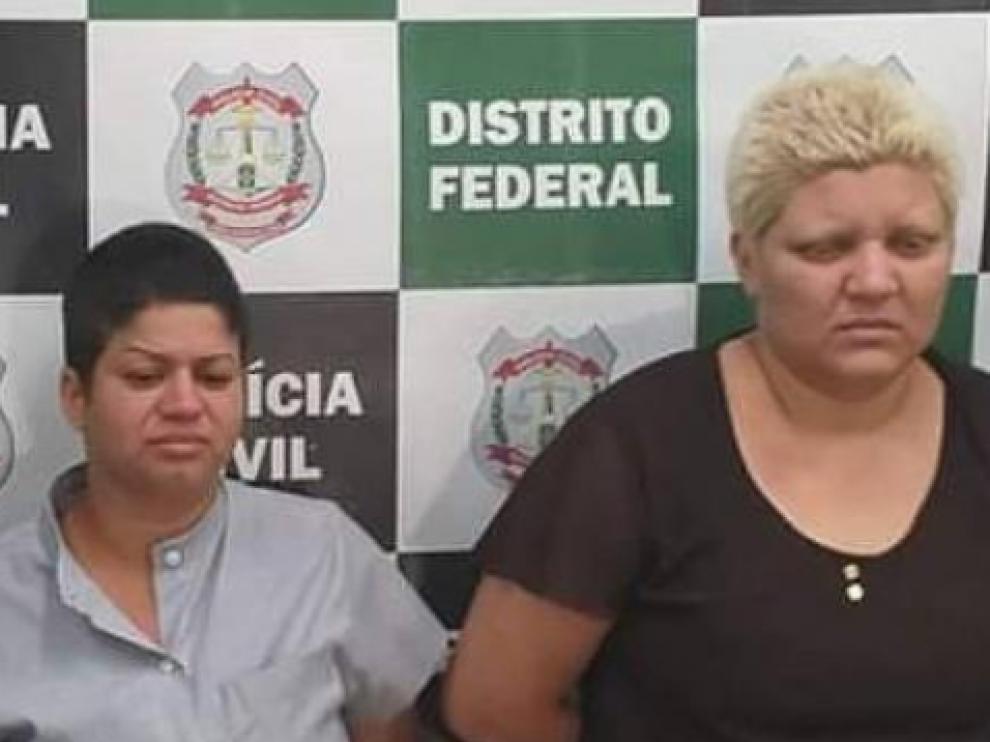 Rosana Candido, y su pareja, Kacyla Pessoa.