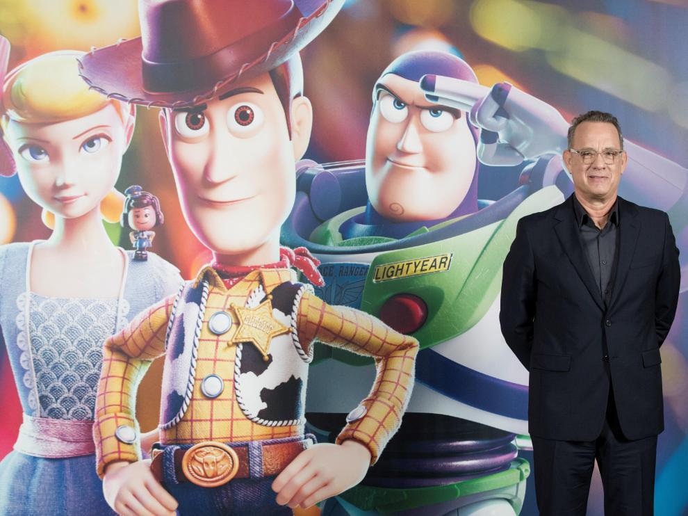 El actor Tom Hanks, que presta su voz al vaquero Woody en 'Toy Story'.