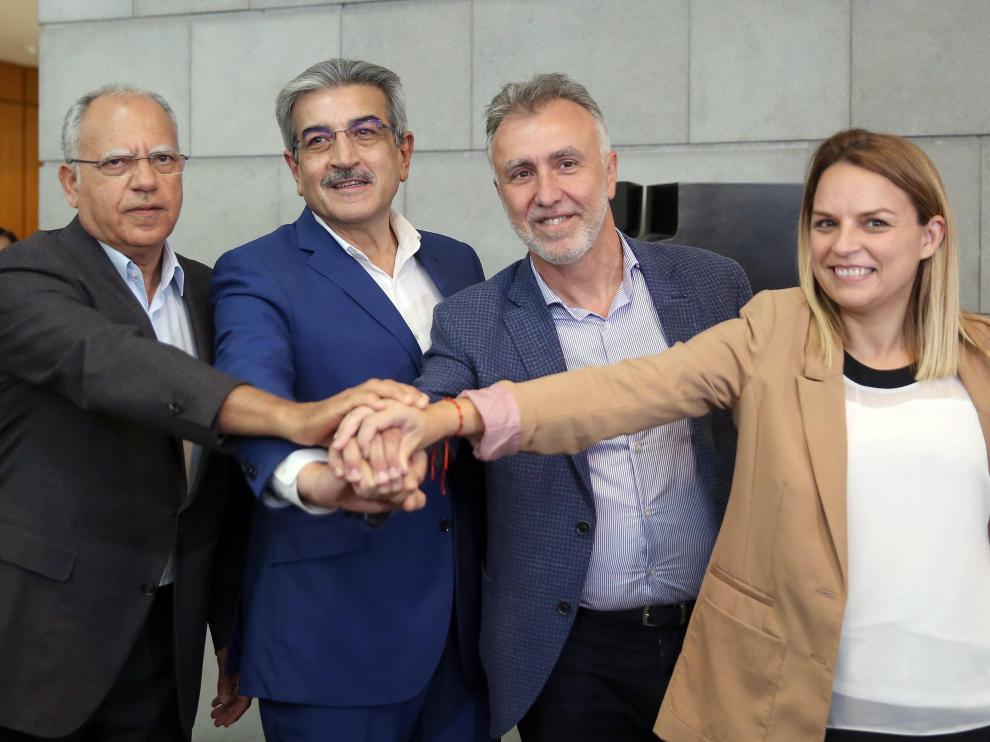 El psoe gana en Canarias