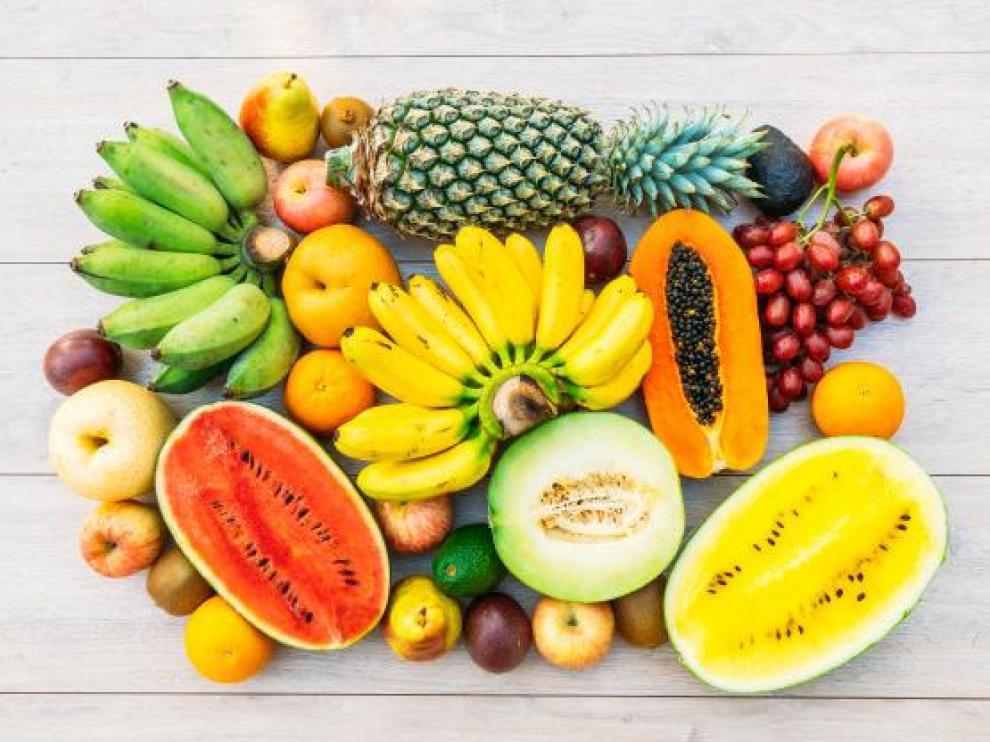 cuantas calorias tienen frutas y verduras
