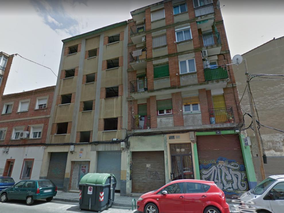 El suceso ha tenido lugar en el número 45 de la calle de Bolivia, en Zaragoza.