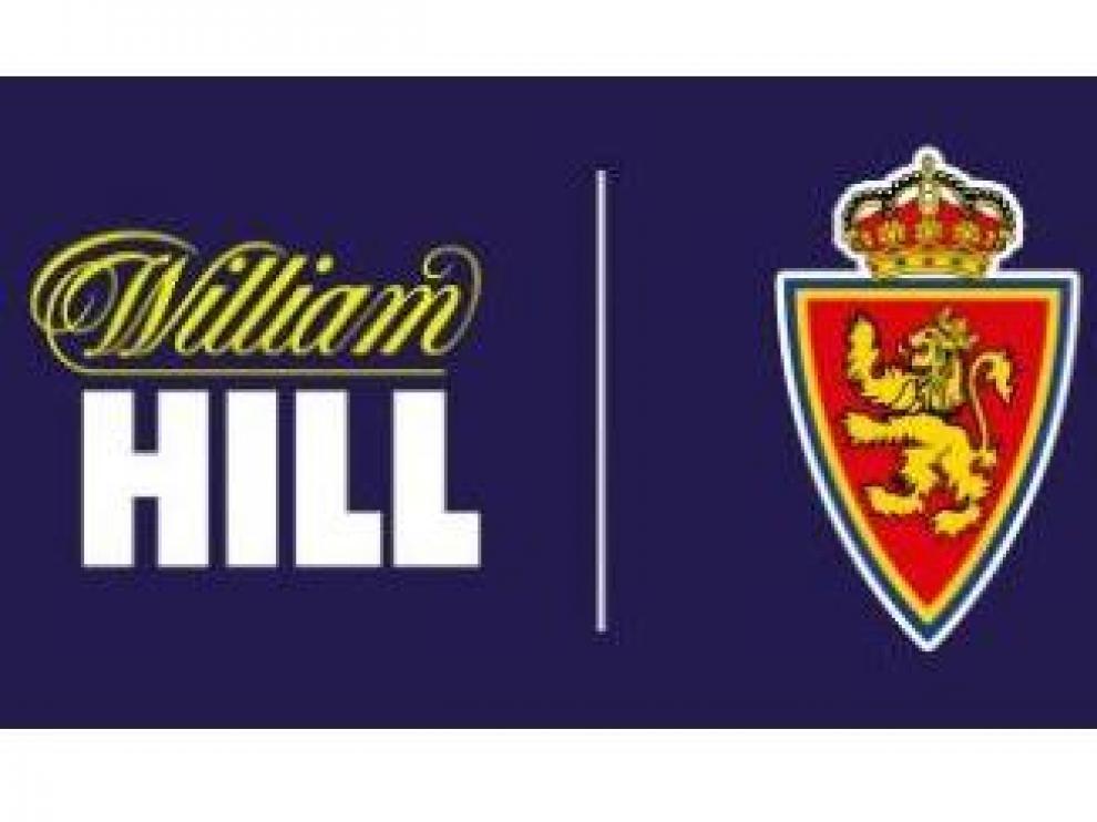 Imagen del vínculo entre el Real Zaragoza y William Hill.