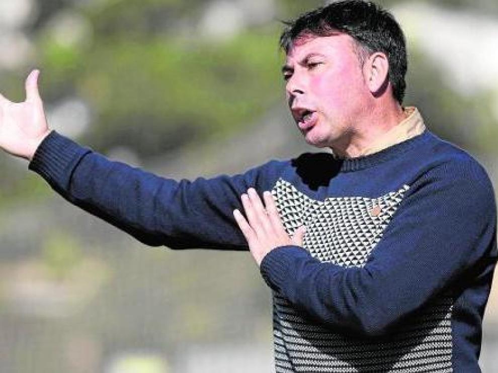 Manolo Sanlúcar, nuevo entrenador del Ebro.