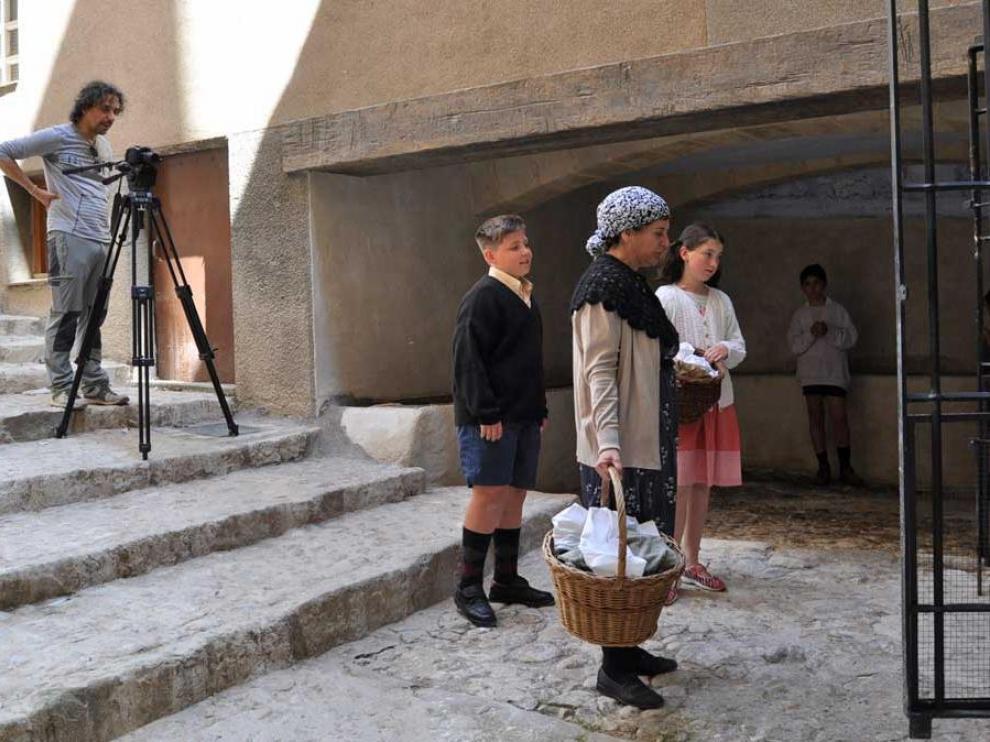 Las escenas han sido rodadas por los alumnos en diferentes lugares de la capital del Matarraña