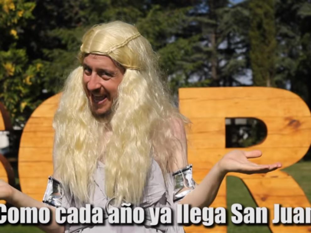 'Cuando llega San Juan', la nueva parodia musical de Alberto Rodríguez.