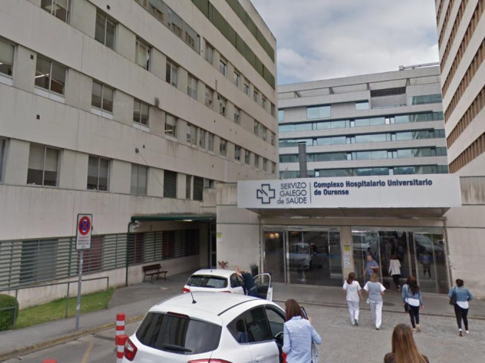 Complejo Hospitalario Universitario de Orense.