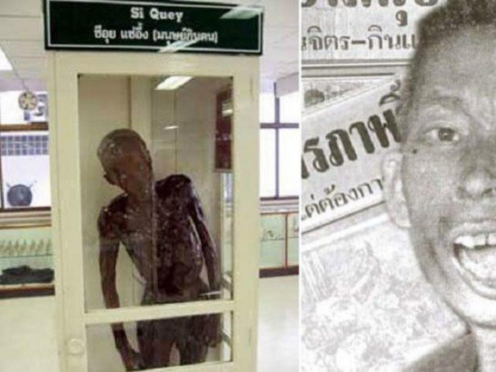 La momia de Si Uey permanece en un museo forense