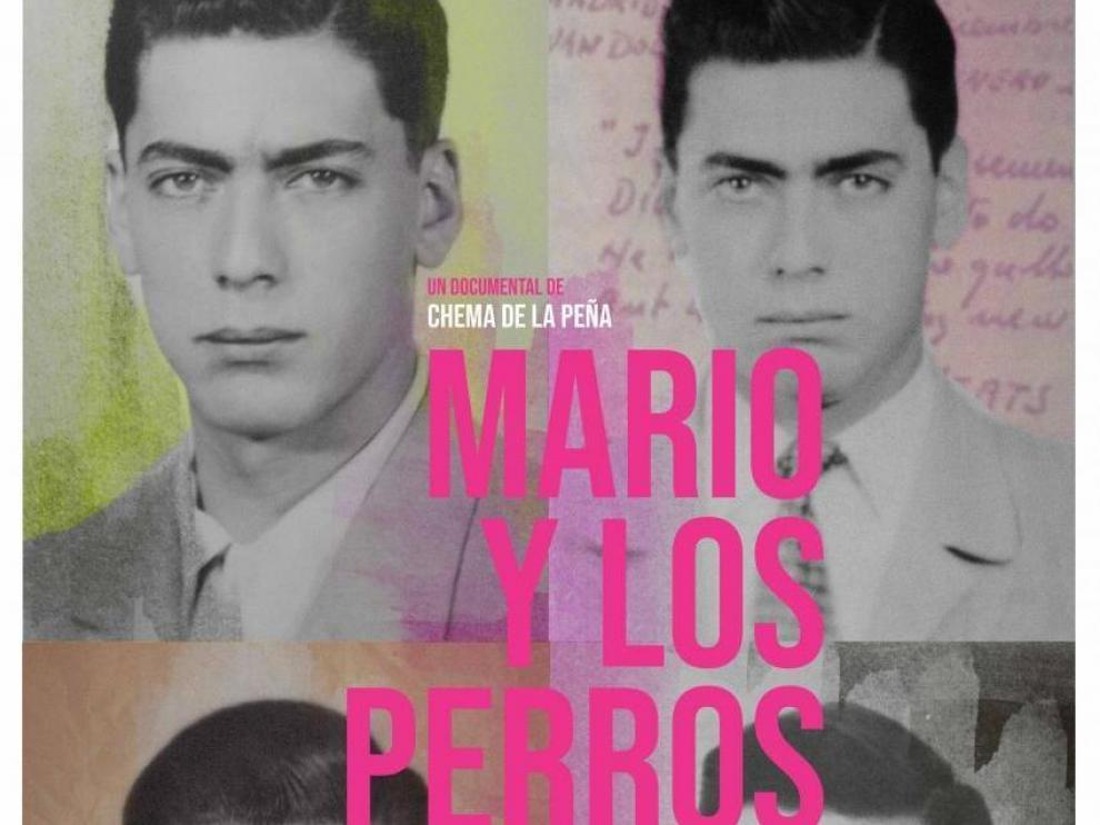 Cartel del documental 'Mario y los perros', que recorre la juventud de Vargas Llosa.