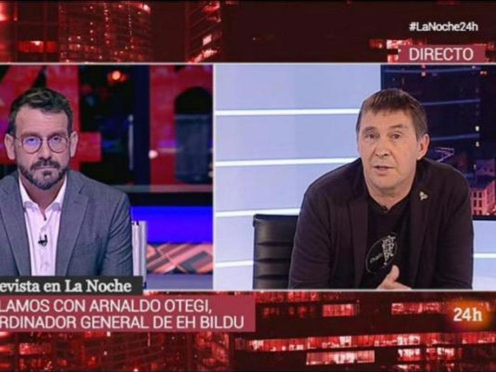 Entrevista a Arnaldo Otegi en RTVE