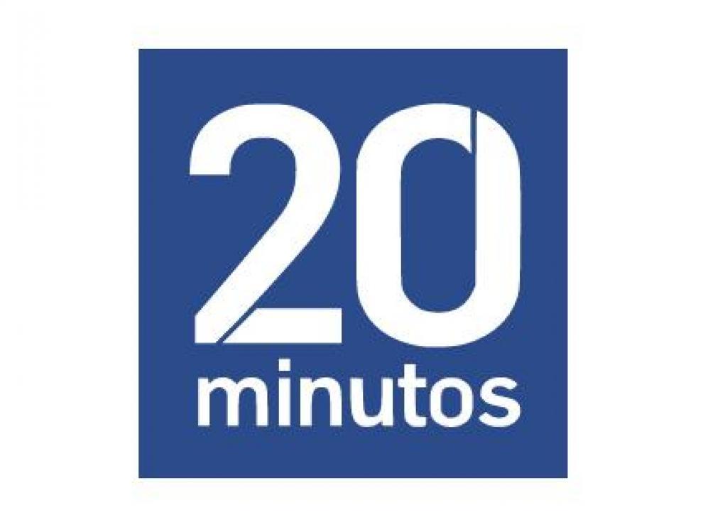 Logo 20minutos, 20 minutos