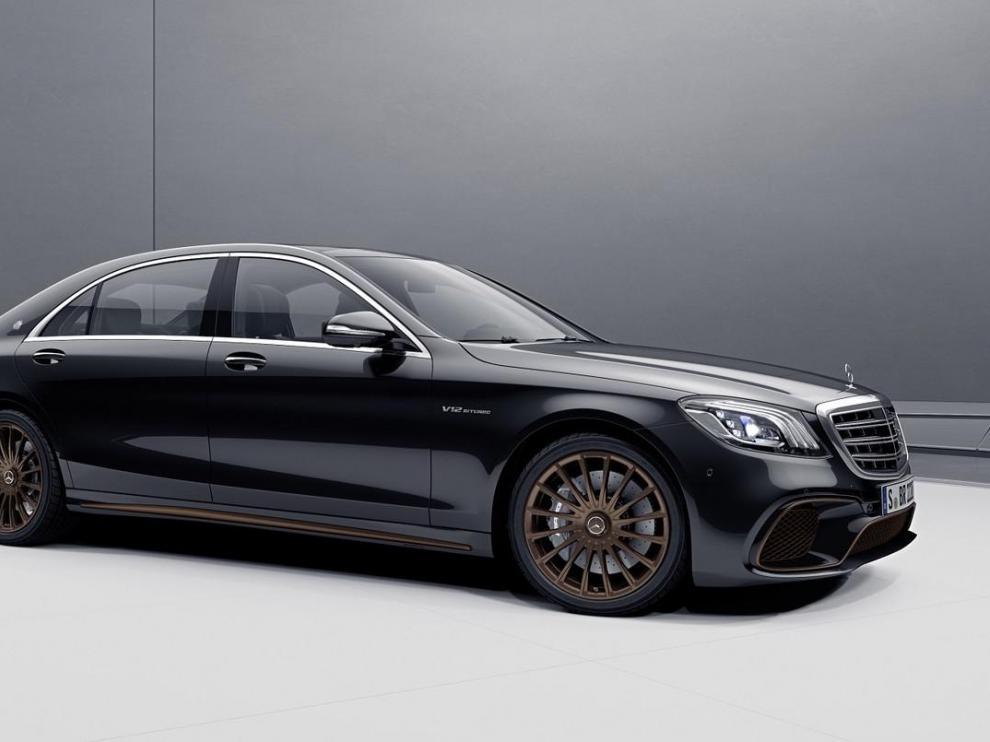 Solo se fabricarán 130 unidades del Mercedes S65 Final Edition.