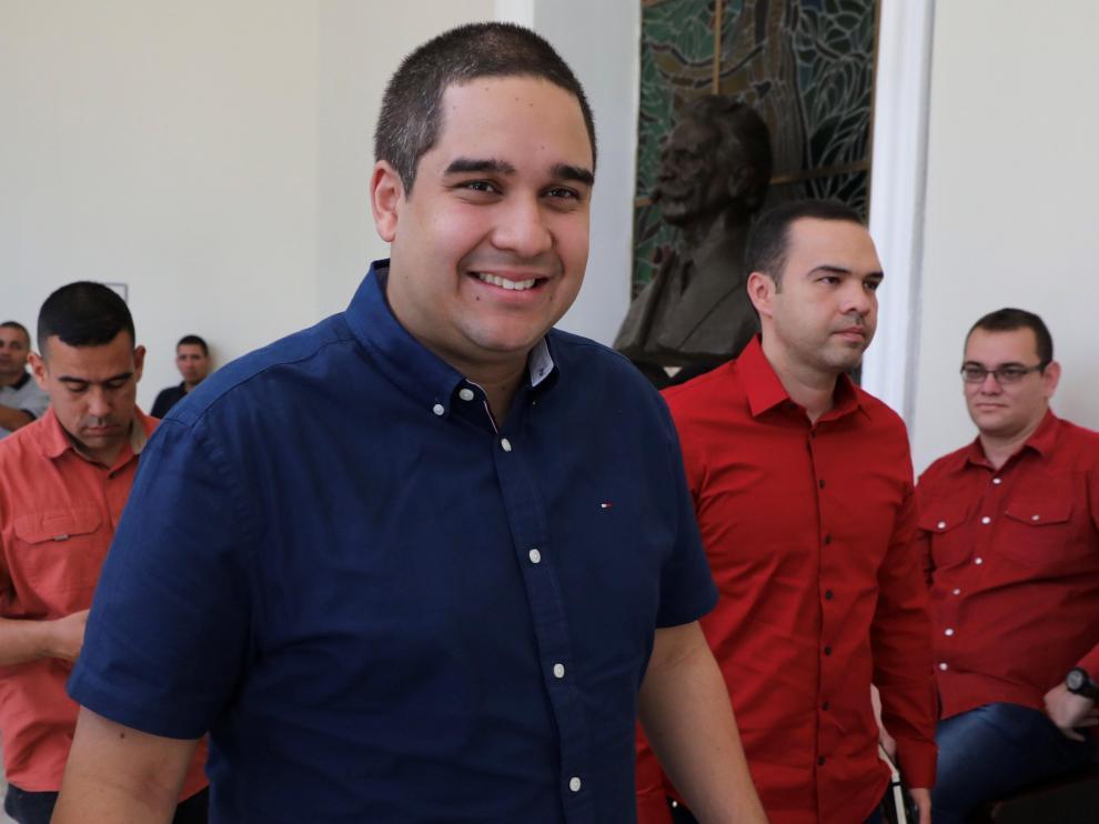 Nicolás 'Nicolasito' Ernesto Maduro Guerra, el hijo de Nicolás Maduro.