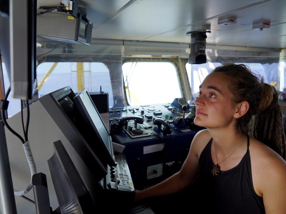 La capitana del barco Sea Watch 3, Carola Rackete, ha sido detenida tras desembarcar en Lampedusa
