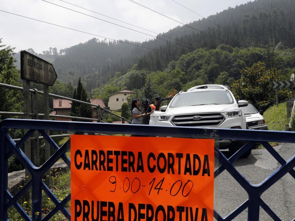 Fallece un copiloto en el Rally Balcón de Bizkaia.