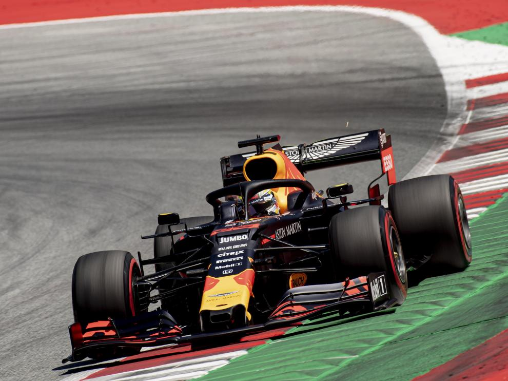 Verstappen se impone en Austria.