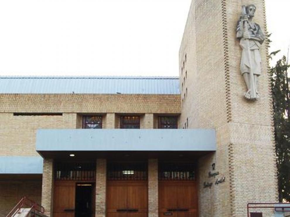 Parroquia de Santiago Apóstol en Huesca