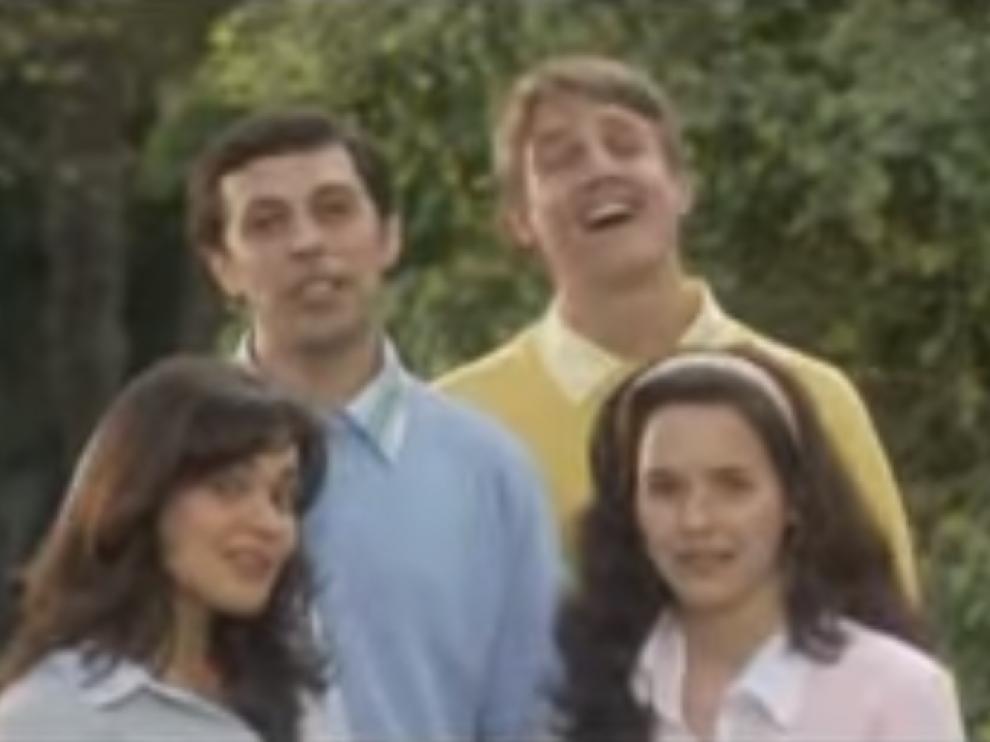 Imagen del videoclip 'Amo a Laura'.