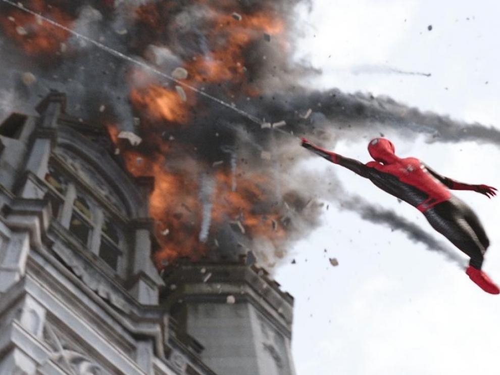 Fotograma de 'Spider Man: lejos de casa'.